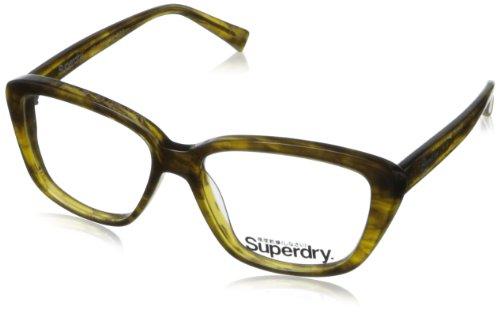 Superdry Women's Honor-101 Rectangular Eyeglasses,Brown & Horn,51 - Case Superdry Sunglasses