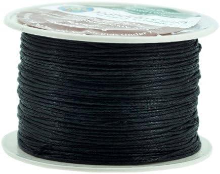 Mandala Crafts, hilo de algodón encerado, 1 mm, 100 metros, para ...