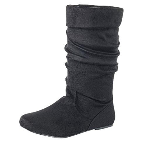 High Heel Slouch Ankle Boot - 1