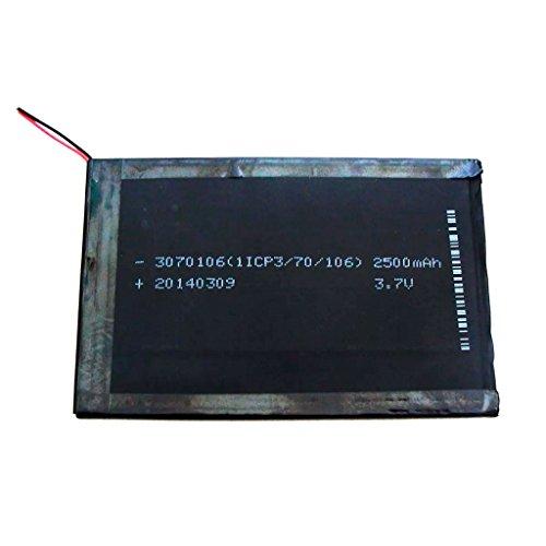 Bateria Tablet 3,7v 2500 Mah 10,5x7cm Compativel