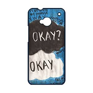 Funny Okay The Fault in Our Stars Quotes HTC ONE M7 Case