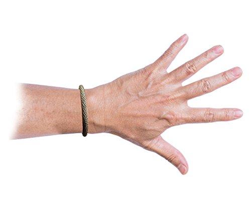 Femme Argent Massif mexicain Couple Bracelet en maille flexibles 8x 8mm Taille 19,1cm lourds 32G UK Argent 925HM