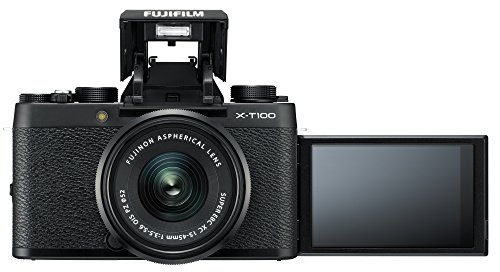 Fujifilm X-T100 24.2 MP Mirrorless Camera with XC 15-45 mm Lens (APS-C Sensor, Electronic Viewfinder, Face/Eye Detection… 2