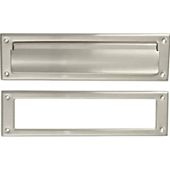Crl Satin Anodized No Draft 3 Quot X 11 1 2 Quot Mail Slot Door