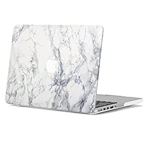 Amazon Com Gmyle White Marble Pattern Soft Touch Frosted