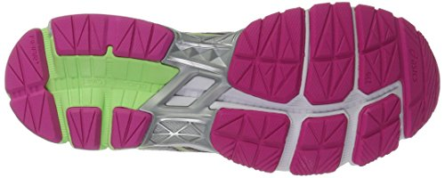 Asics Donna Gt-1000 4 Scarpa Da Corsa Argento / Pistacchio / Bagliore Rosa