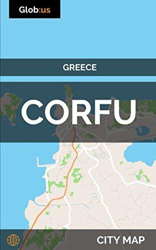 Corfu, Greece - City Map (Corfu Greece Map)