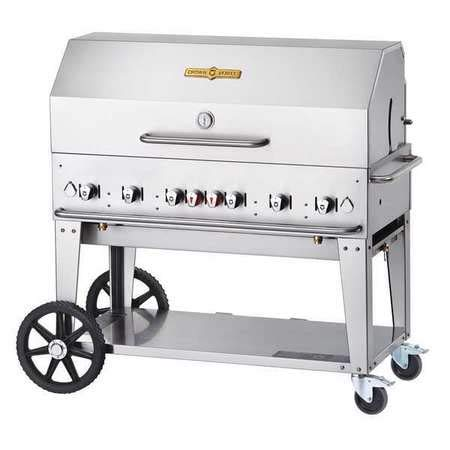 Mobile Grill Roll Dome Package, NG, 48