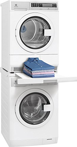 (Kenmore 02618012 Laundry Install Parts Front Load Washer and Dryer Stacking Kit, White)