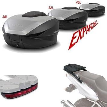 SHAD - SH59LUHE15/359 : Kit fijacion y maleta baul trasero + luz de freno regalo SH59 KAWASAKI VERSYS-X 300: 2017-2017 - - -: Amazon.es: Coche y moto