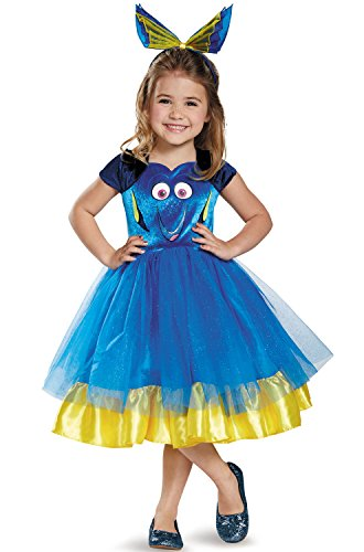 Dory Toddler Tutu Deluxe Finding Dory Disney/Pixar Costume, Small/2T