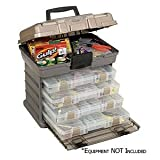 Plano Guide Series™ Stowaway Rack Tackle Box System - Graphite/sandstone