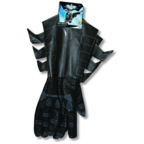 Batman: The Dark Knight Rises: Batman Gloves with Gauntlets, Child Size -