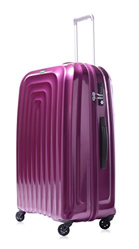 lojel-wave-polycarbonate-medium-upright-spinner-luggage-violet-one-size