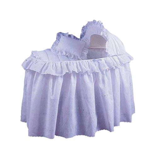Babydoll Congratulations Bassinet Liner and Hood, 15'' x 30'' by BabyDoll Bedding