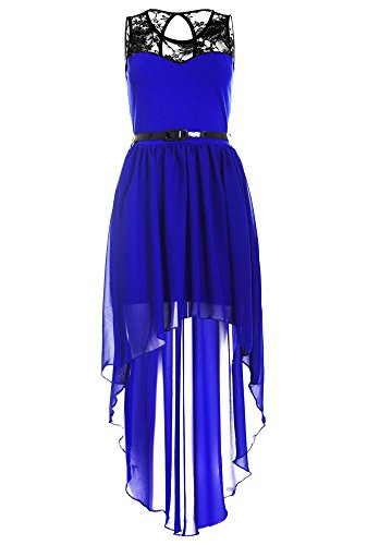 Kleid Linie Blau Drasawee Damen A qwICCXtnE