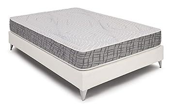 Bedland ▻ Colchón Viscoelástico Dual Side, Color Gris y Blanco (135cm x 190cm)