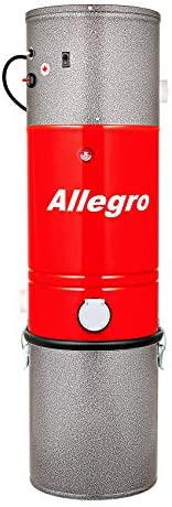 Allegro MU4200 Classic Central Vacuum Power Unit 3,000 Square Foot Home Life-Time Warranty