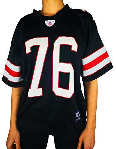 c2b7a3ccaa4b0 UISSOS Camiseta Futbol Americano con Doble Estampado Stewart 76 100%  POLIÉSTER  Amazon.es