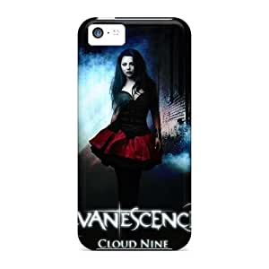 Iphone 5c OJg9830iokp Provide Private Custom Trendy Evanescence Band Pattern Durable Hard Cell-phone Cases -AlissaDubois