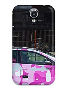 Durable Defender Case For Galaxy S4 Tpu Cover(funny Car)