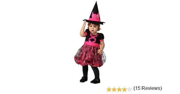 Atosa 14809 Disfraz bruja rosa 0-6 meses, talla niña: Amazon.es ...