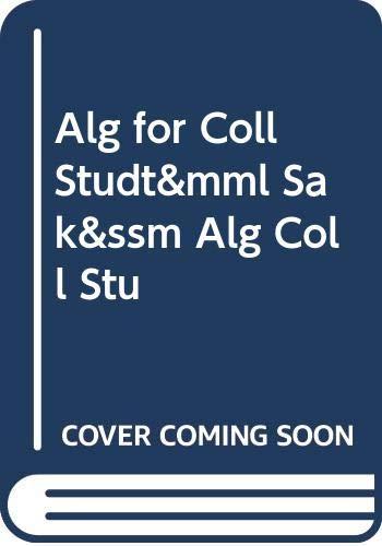 Alg for Coll Studt&mml Sak&ssm Alg Coll Stu