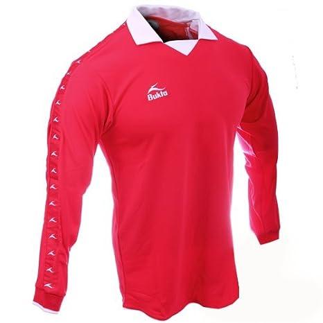 Bukta Retro George Best Estilo Camiseta De Fútbol Rojo - Joven Extra Grande: Amazon.es: Deportes y aire libre