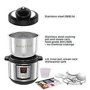 Instant-Pot-Lux-Mini-6-in-1-Electric-Pressure-Cooker-Slow-Cooker-Rice-Cooker-Steamer-Saute-and-Warmer-3-Quart-10-One-Touch-Programs