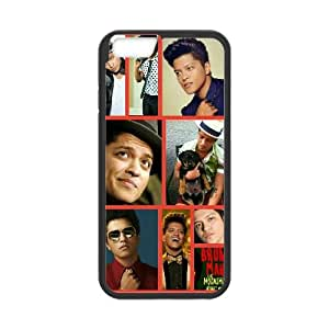 """DDOUGS Bruno Mars High Quality Cell Phone Case for Iphone6 Plus 5.5"""", Personalized Bruno Mars Case"""