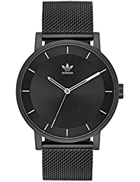 Watches District_M1. Milanese Stainless Steel Bracelet, 20mm Width (All Black/Gunmetal. adidas