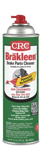 - CRC Brakleen 05054 Brake Parts Cleaner - 50 State Formula with PowerJet Technology