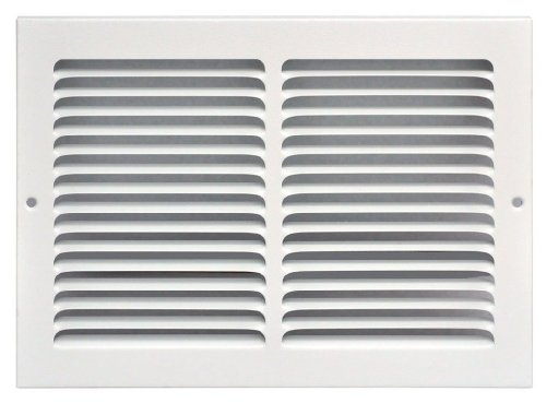 Speedi-Grille SG-148 RAG White Return Air Vent Grille with Fixed Blades - Vent Grille