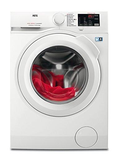 AEG L6FB50480 Waschmaschine / 8,0 kg / Mengenautomatik / Nachlegefunktion / Kindersicherung / Schontrommel / Wasserstopp…