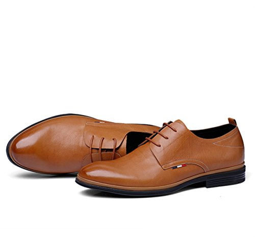 NBWE Chaussures Habillées En Cuir Souple Pour Hommes yellow dbNlk4ET