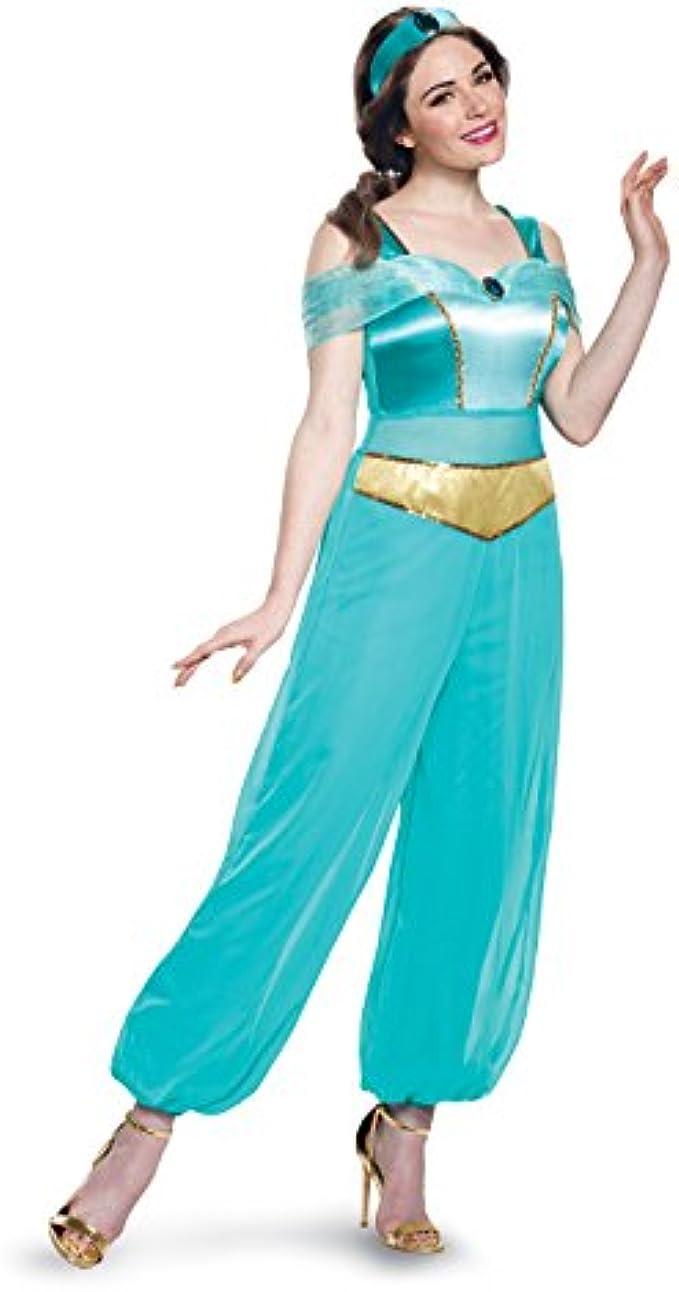 Disguise Women's Jasmine Deluxe Costume
