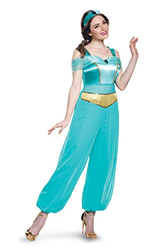 Disney Women's Jasmine Deluxe Adult Costume