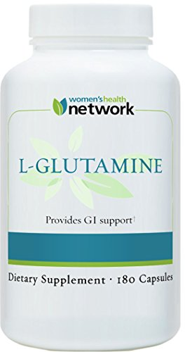Women's Health Network L-Glutamine Capsules, 500 mg, 180 Count