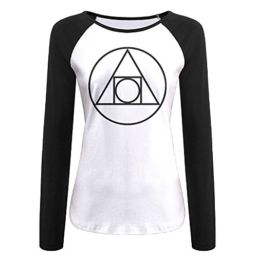 Squared Circle Alchemical Glyph seventeenth Century Autumn Custom Funny Women's Long Sleeve T-Shirt | Raglan Jersey Shirt - 17th Century Shirts