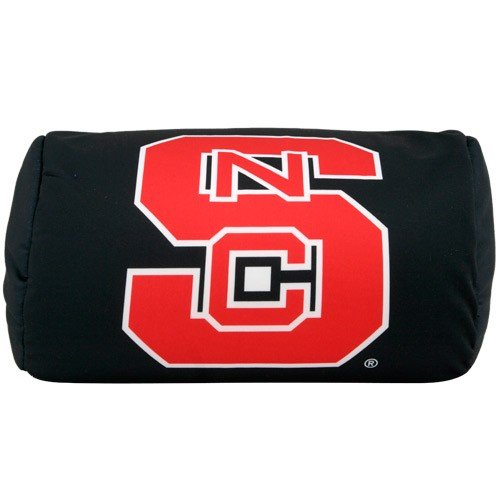 Nc State Pillow - North Carolina State Wolfpack Black Microbead Pillow