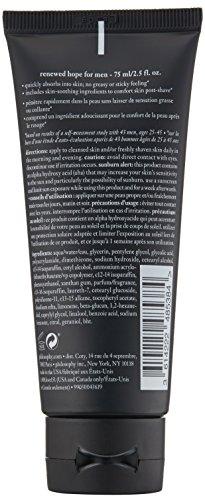 philosophy renewed hope for men mattifying moisturizer, 2.5 fl. oz.