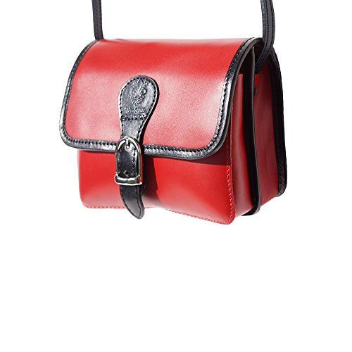 Rosso Pelle 225 Borsa In Tracolla Leather Florence Market nero A 4WqpY8Wgw