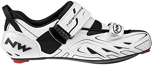 Northwave NW Shoes TRIBUTE - Triathlon WHITE-BLACK 47 s9gqGprb