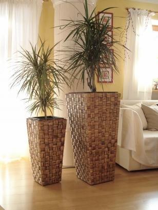 Wasserhyazinthe Blumenkübel Übertöpfe Pflanzkübel 2er Set \