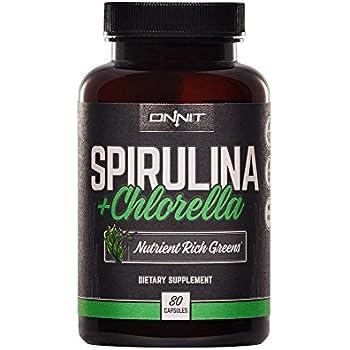 Amazon Com Organic Chlorella Spirulina Powder 50 50 Mix