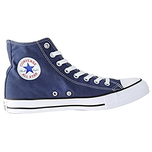 converse navy high tops