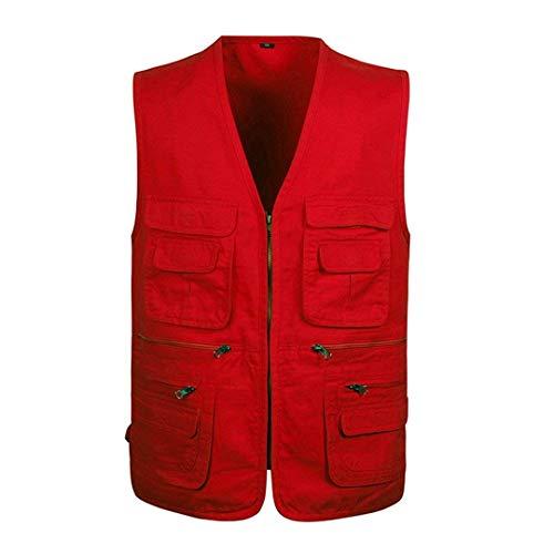 A All'aperto Senza Scollo Esercito Con Cappotto Rosso Casuale Verde Abbigliamento Uomini Tasche Senza Molte V Epoca Maniche Jeans Maniche Giubbotto Rivestimento Con Huixin Nero Bw1Ozq1x7
