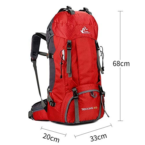 Free Knight 60L Waterproof Backpack with Rain cover