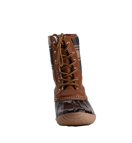 Henry Ferrera Womens Mission-100 Tan / Brown Duck Foot Lined Boots Tan / Brown Duck Foot