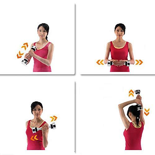 QNMM Mujeres Mancuernas Ejercicio Levantamiento de Pesas Ejercicio aeróbico tonificación Muscular, Gimnasio en casa y rehabilitación: Amazon.es: Deportes y ...